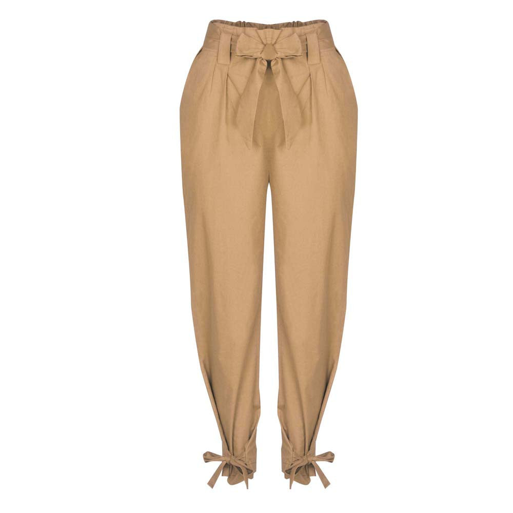 High Waist Trousers Ladies
