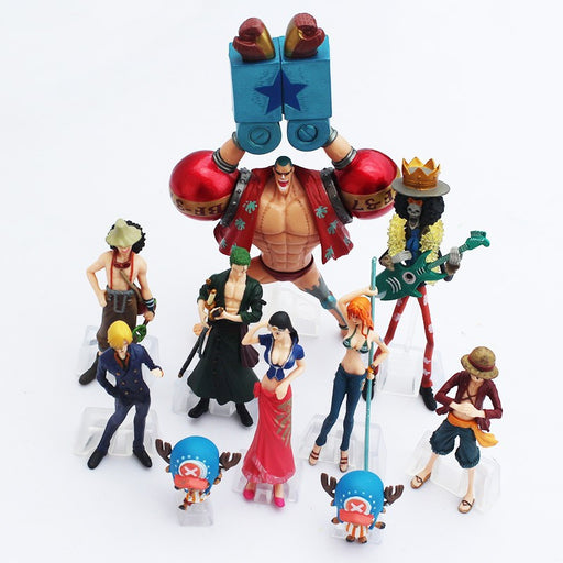 Straw Hat Pirates Action Figures Set