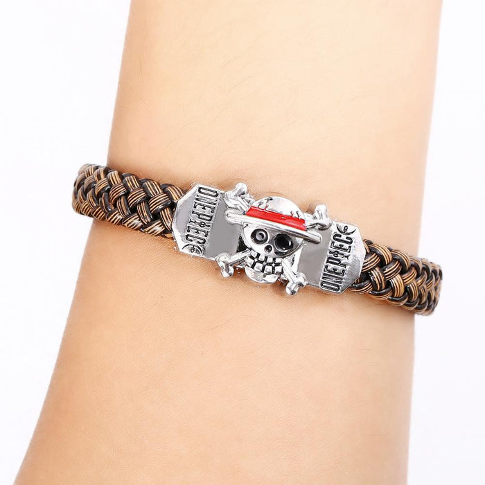 One Piece Silver Alloy Bracelet