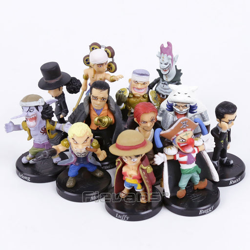 One Piece Mini Action Figure Set