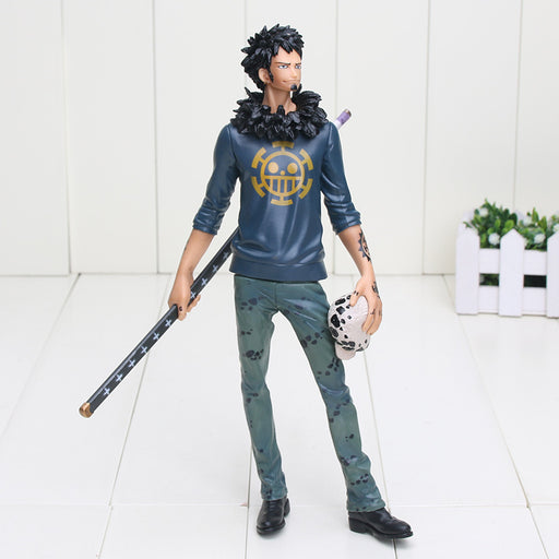 "Anime One Piece Trafalgar Law After 2 Years PVC Action Figure Collection Model Toy 11"" 27CM"