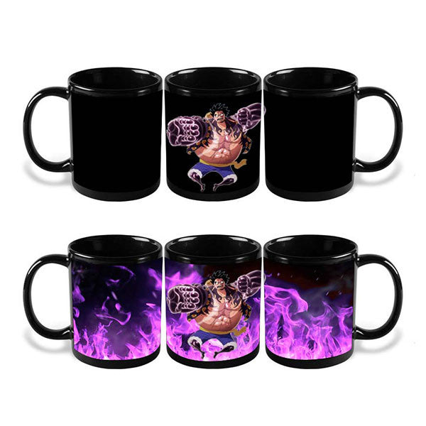 Luffy Gear Fourth Heat Reactive Mug