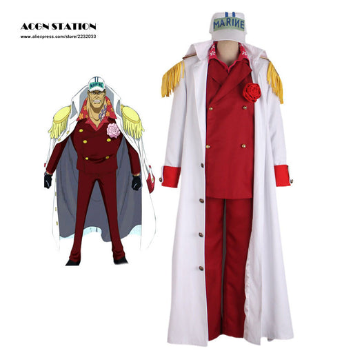Akainu Cosplay Costume