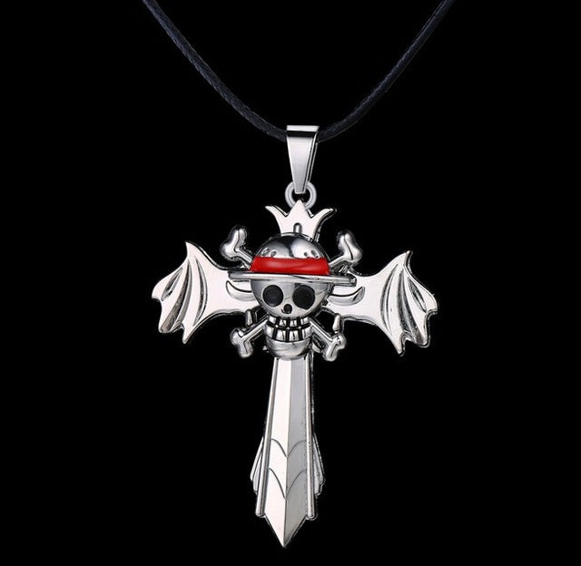 One Piece Cross Necklace