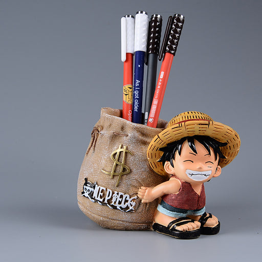 Luffy Office Pen Holder