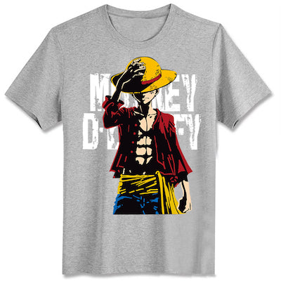 Cute Unicorn One Piece Luffy T shirt casual cotton tshirt homme O neck streetwear man t-shirt boys clothes anime summer top tees