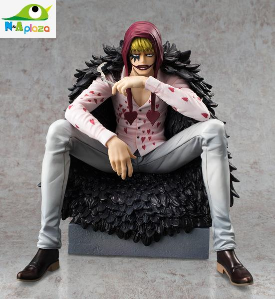 Young Trafalgar Law and Corazon Action Figures