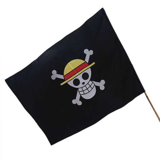 One Piece Pirate Flag Vlag Garden Flags And Banners Cartoon Victory Banner Straw Hat Monkey D Luffy Flag
