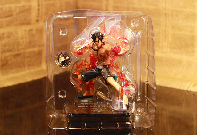 Anime One Piece ZERO Portgas D Ace PVC Action Figure Model Collection Toy 12CM hot