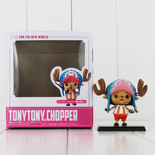 1Pcs 6.5cm Anime One Piece Tony Tony Chopper PVC Action Figure Collection Model Doll Toys Great Birthday Gifts