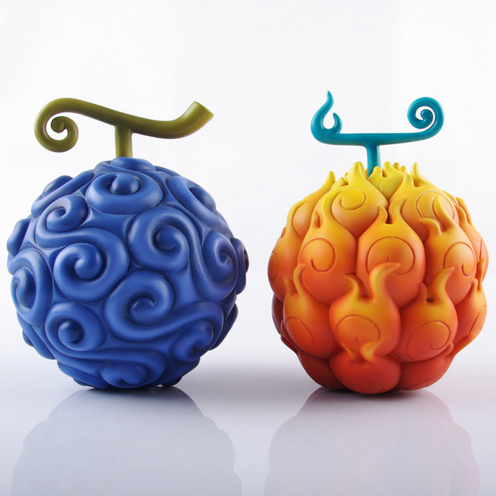 Mera Mera and Gomu Gomu Devil Fruits