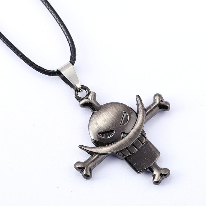 ONE PIECE Necklace White beard Edward Newgate Anime Pendant Necklace Friendship Men Women Jewelry Choker Accessories YS11320