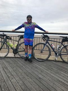 Cawton Wright's bike ride from Southport to Amsterdam