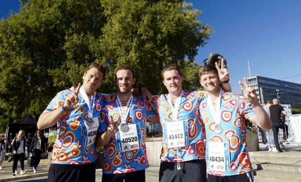 Ben Pollard and Friends Ran the Oslo Marathon