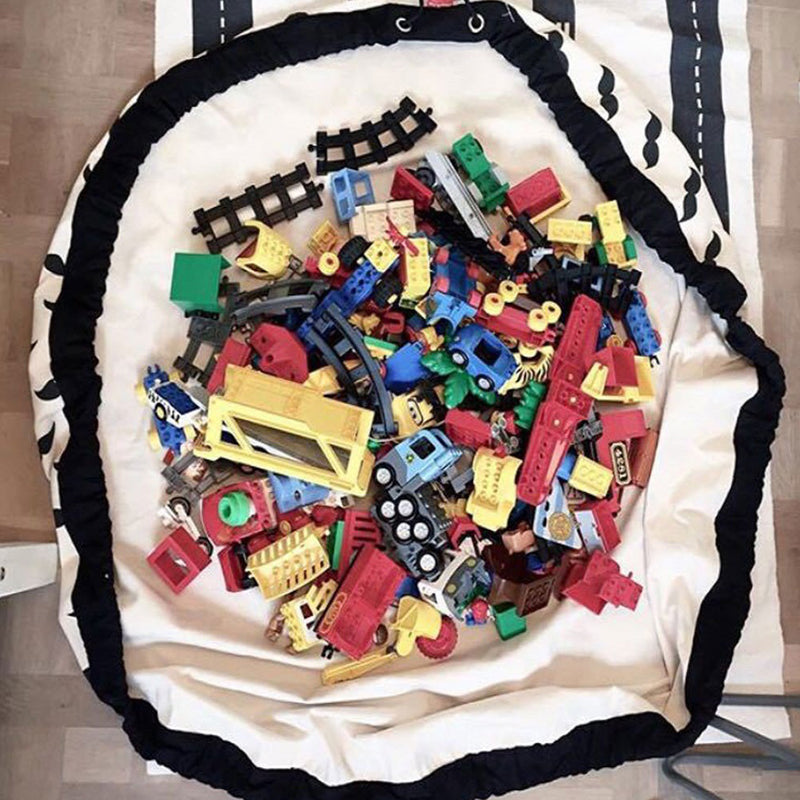 Large Kids Toy Storage Bag