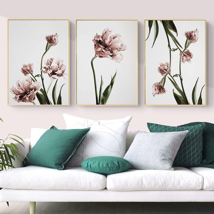 Tulip Flower Canvas Prints