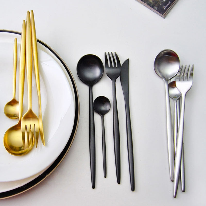 Stainless Steel 4 Piece Cutlery Set
