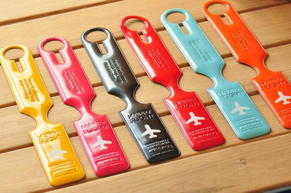 Happy Flight Luggage Tags