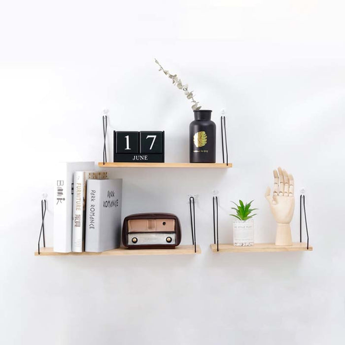 Wooden Decorative Wall Shelf
