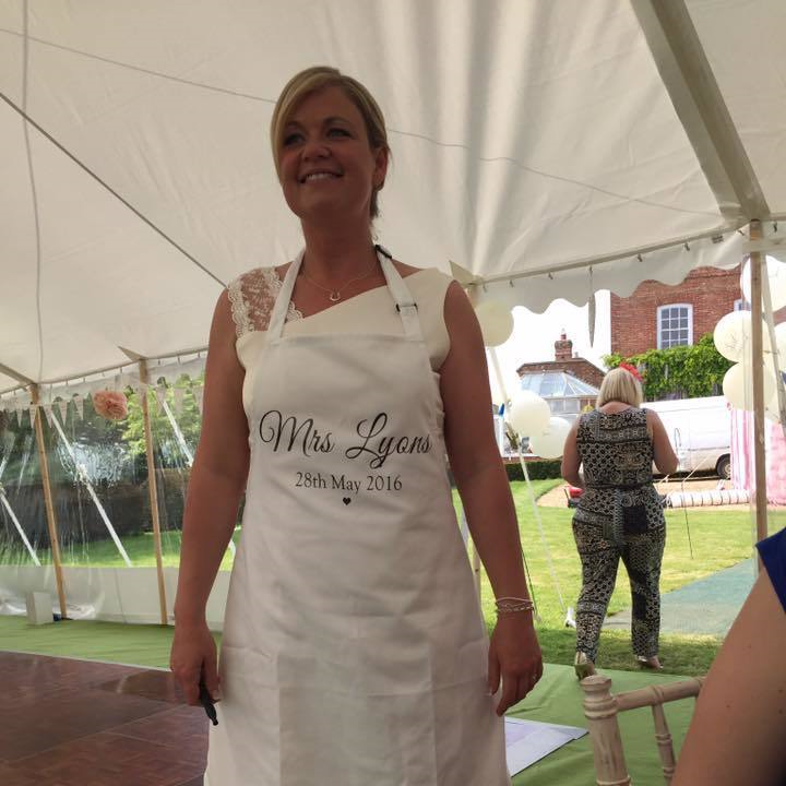 Mrs Surname with Date Apron - Lovelei Ltd