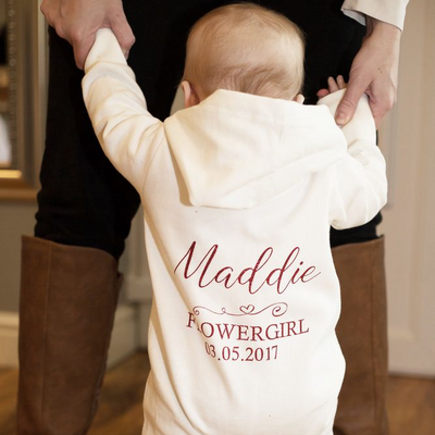 Personalised Baby & Toddler Onesie - Lovelei Ltd