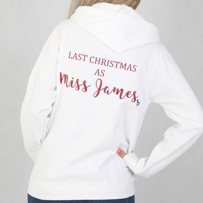 First/Last Christmas Holly Hoodie - Lovelei Ltd