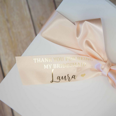 Personalised Ribbon - Lovelei Ltd