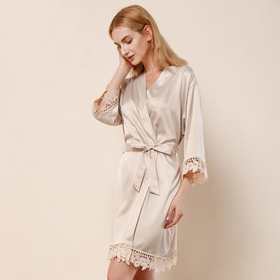 Bonnie Champagne Robe - Lovelei Ltd