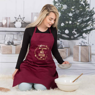 Christmas Wreath Apron - Lovelei Ltd