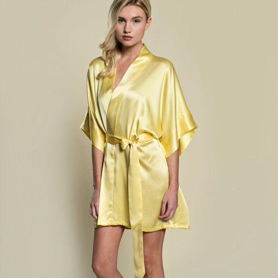 Yellow Robe - Lovelei Ltd