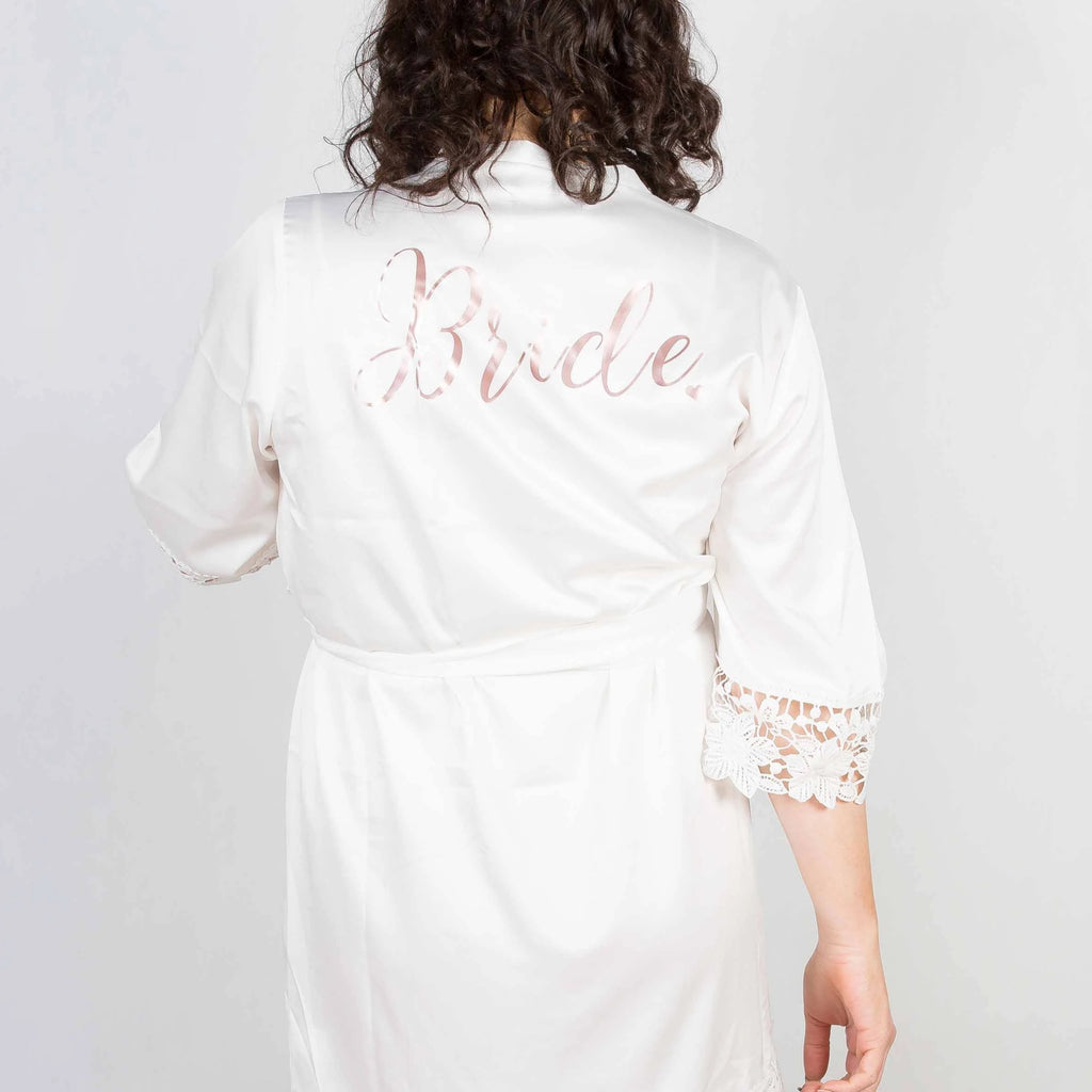 Bonnie White Robe - Lovelei Ltd