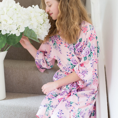 Megan Pink Robe - Lovelei Ltd