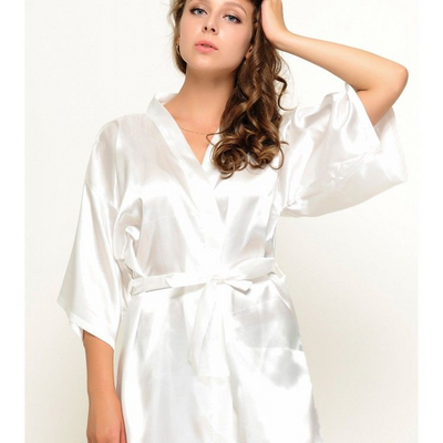 Plain Coloured Robe - Lovelei Ltd