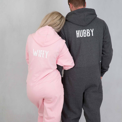 Personalised Hubby & Wifey Onesie - Lovelei Ltd