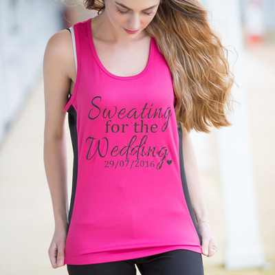 Sweating For The Wedding Gym Vest - Lovelei Ltd