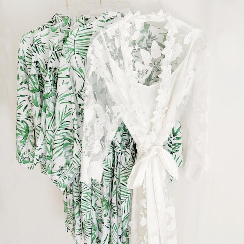 Aloha Palm Robe - Lovelei Ltd