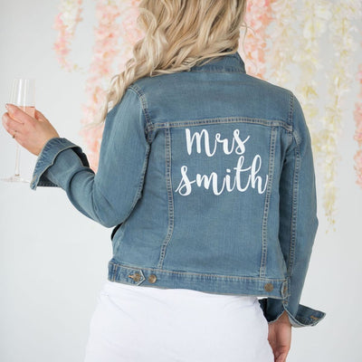 Personalised  Denim Jacket - Lovelei Ltd