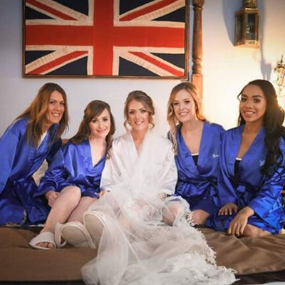 Royal Blue Robe - Lovelei Ltd