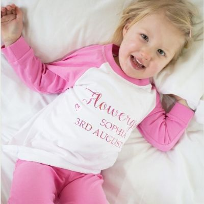 Flowergirl Pink Pyjamas - Lovelei Ltd
