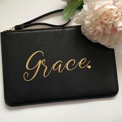 Personalised Name Boutique Pouch Bag - Lovelei Ltd