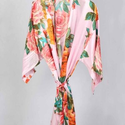 Roseanna Pink Robe - Lovelei Ltd