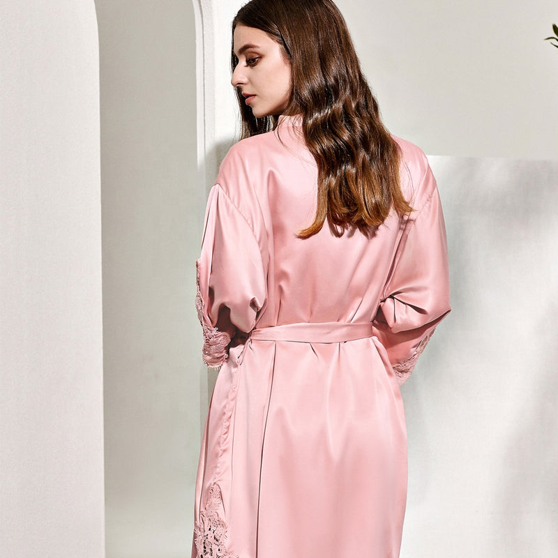 Mai Dusky Rose Robe - Lovelei Ltd
