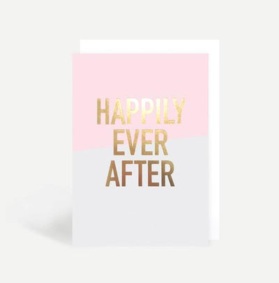 Greeting Card - Happily Ever After - Lovelei Ltd