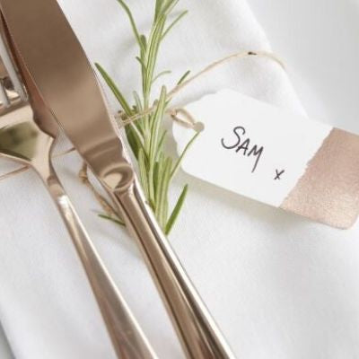 Luggage Tags Rose Gold Tipped - Lovelei Ltd