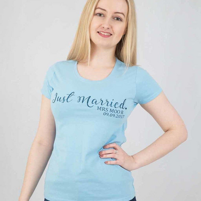 Just Married Her Top - Lovelei Ltd
