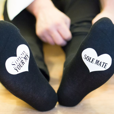 Sole Mate Heart Socks - Lovelei Ltd