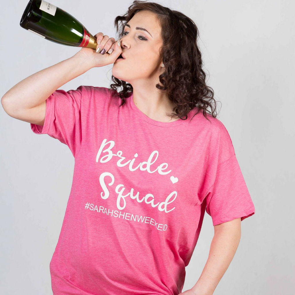 Hashtag Bridal Squad - Lovelei Ltd