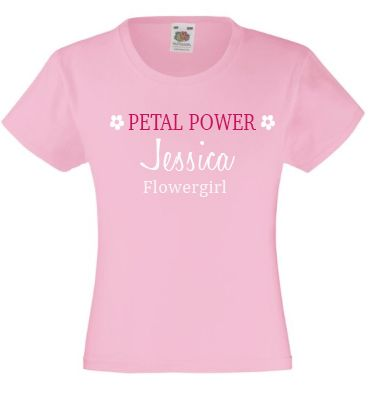 Petal  Power Flowergirl T-Shirt - Lovelei Ltd