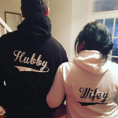 Husband & Wifey Hoodies - Lovelei Ltd