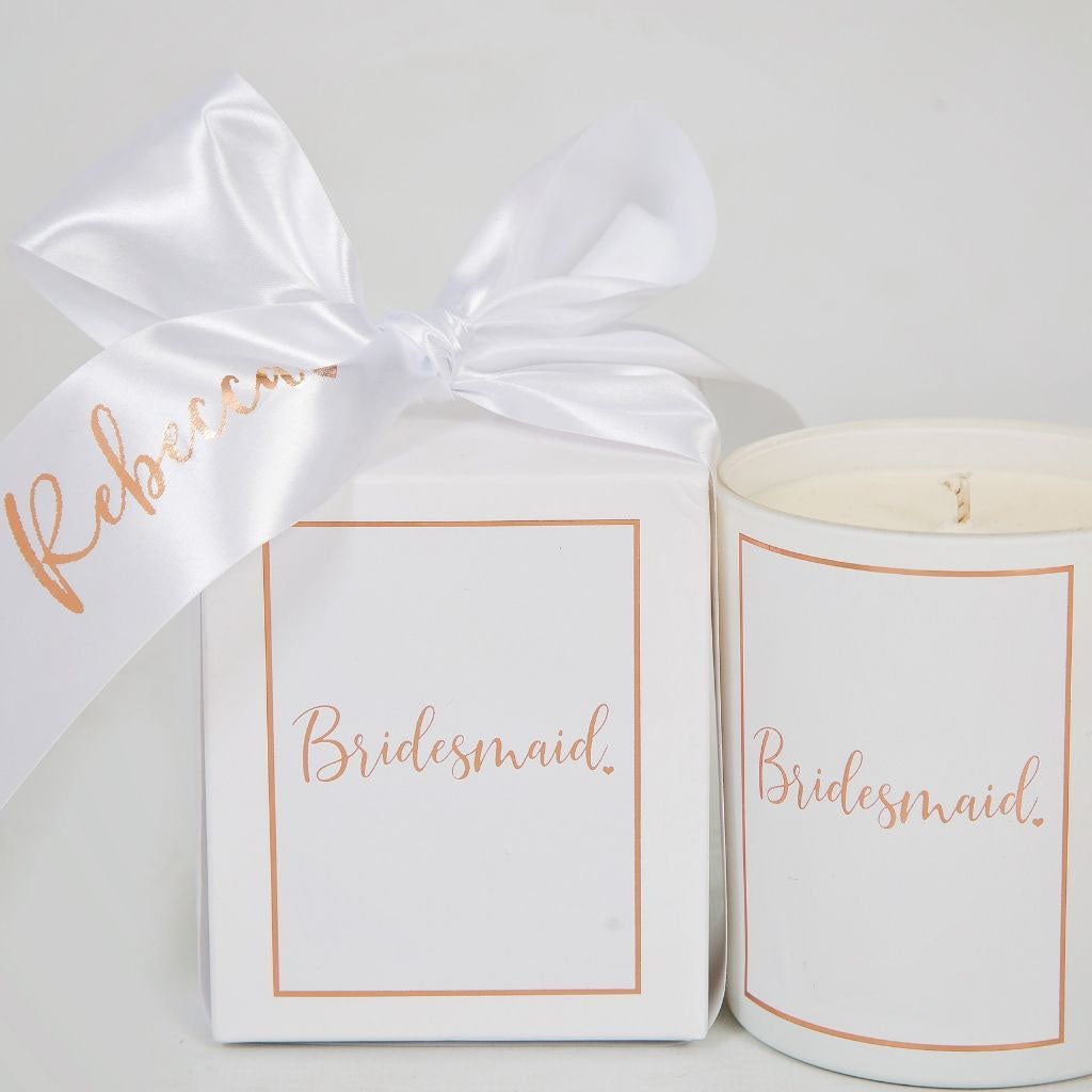 Bridesmaid Candle - Lovelei Ltd